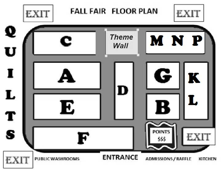Peachland Fall Fair Floor Plan