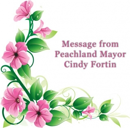 Message from Peachland Mayor Cindy Fortin